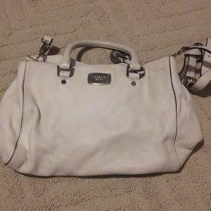Michael kors white handbag